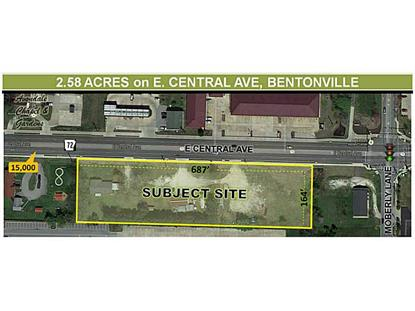 2104 East CENTRAL Avenue Bentonville, AR MLS# 708000