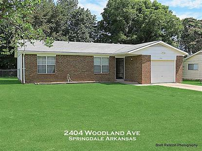 2404 WOODLAND Avenue Springdale, AR MLS# 711940