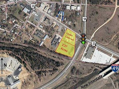 2.37 Acres Hwy 59 & 22 103 Fort St Street Barling, AR MLS# 738923