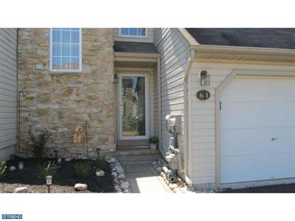 61 BRISTOL CT Norristown, PA MLS# 6336230