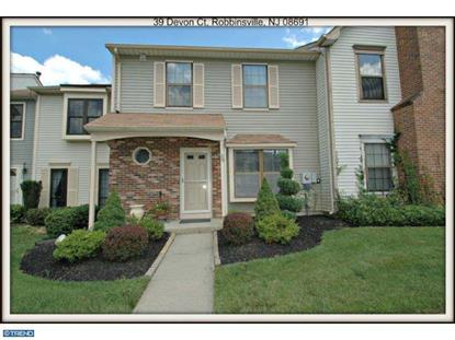 39 DEVON CT Robbinsville, NJ MLS# 6430773