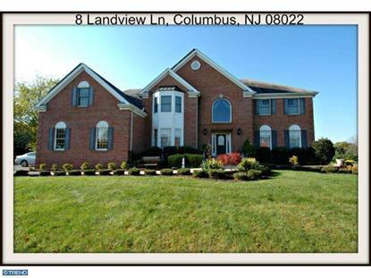 8 LANDVIEW LN Columbus, NJ 08022 MLS# 6478967