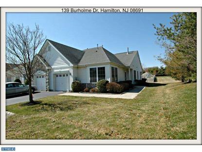 139 BURHOLME DR Hamilton, NJ MLS# 6548089