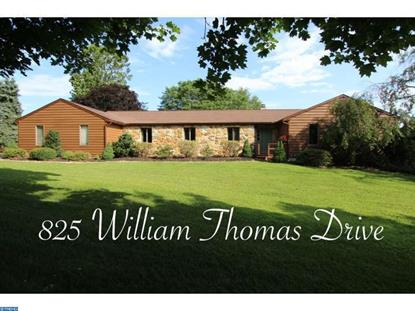 825 WILLIAM THOMAS DR Kennett Square, PA MLS# 6614523