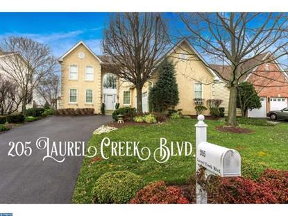 205 LAUREL CREEK BLVD Moorestown, NJ MLS# 6743760