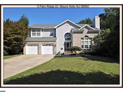 5 PARC RIDGE DR Mount Holly, NJ MLS# 6848916