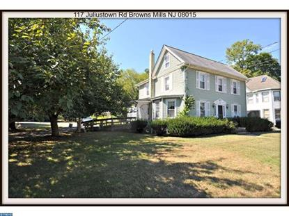 117 JULIUSTOWN RD Browns Mills, NJ MLS# 6859722