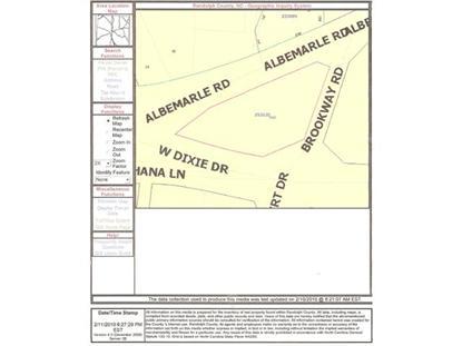 1065 Albemarle  Asheboro, NC MLS# 679278