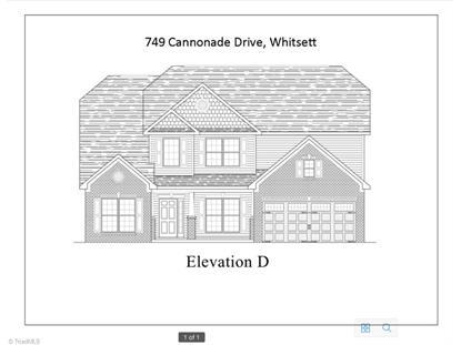 749 Cannonade Drive Whitsett, NC MLS# 760415