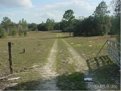 12790 NE 75 ST  Bronson, FL MLS# 417564