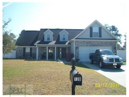 Address not provided Pooler, GA 31322 MLS# 127707