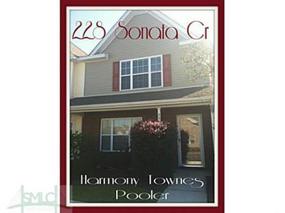 228 Sonata Circle Pooler, GA 31322 MLS# 137973