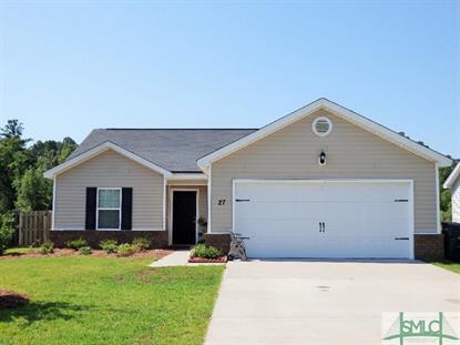 27 Twin Oaks Place Pooler, GA 31322 MLS# 148241