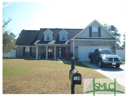 138 Silverton Road Pooler, GA 31322 MLS# 158631