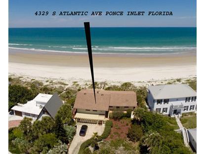 4329 Atlantic Avenue Ponce Inlet, FL MLS# 1004832