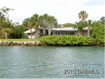 4818 S Peninsula Dr  Ponce Inlet, FL MLS# 548892