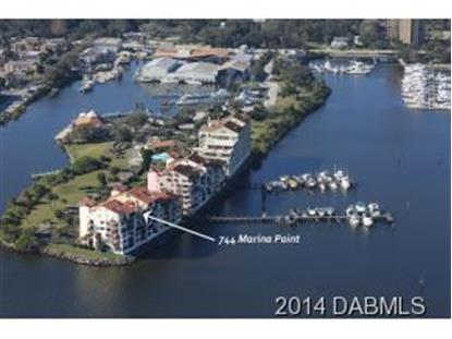 744 Marina Point Dr  Daytona Beach, FL MLS# 560760