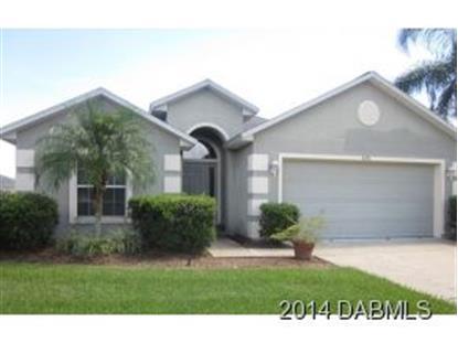 6731 Calistoga Cir  Port Orange, FL MLS# 562686