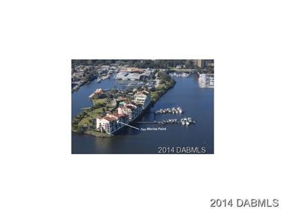 744 Marina Point Dr  Daytona Beach, FL MLS# 566053