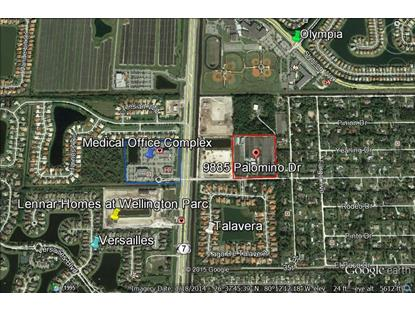 9885 Palomino Drive Lake Worth, FL MLS# RX-10093230
