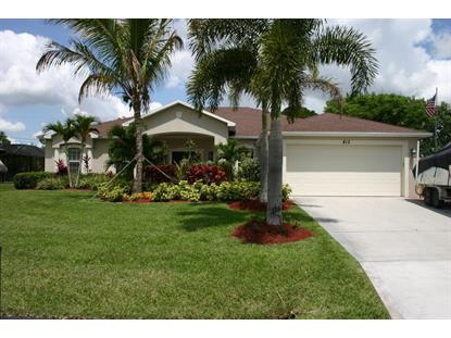 813 SW Jennifer  Port Saint Lucie, FL MLS# RX-10128054