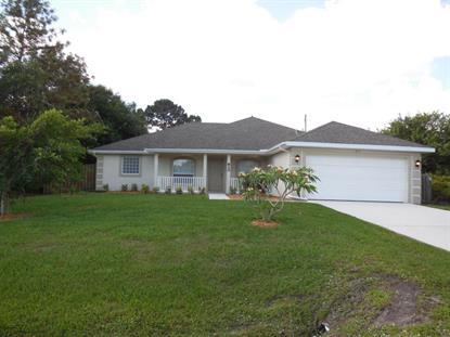 820 SW Tulip Bv Boulevard Port Saint Lucie, FL MLS# RX-10133085