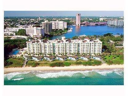 800 S Ocean Boulevard Boca Raton, FL MLS# RX-10134329