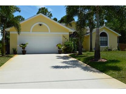 1042 SW Deauville Avenue Port Saint Lucie, FL MLS# RX-10136658