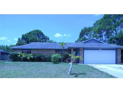 986 SW Eureka Avenue Port Saint Lucie, FL MLS# RX-10151635