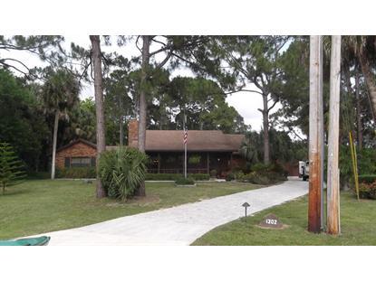 1302 SW Bartell Avenue Port Saint Lucie, FL MLS# RX-10154055