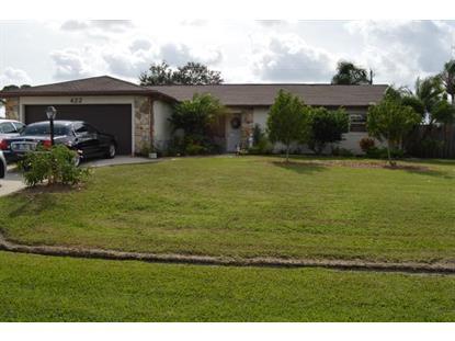 422 NW Concord Drive Port Saint Lucie, FL MLS# RX-10184976