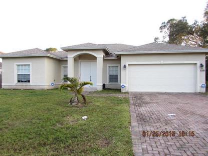 1150 SW Sudder Av Avenue Port Saint Lucie, FL MLS# RX-10202555