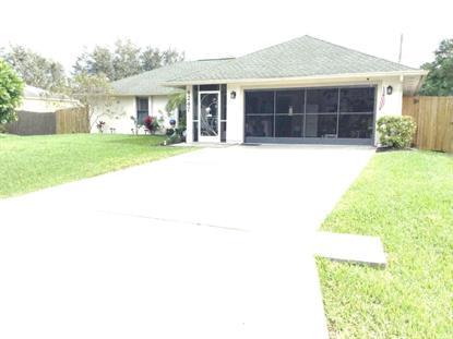 4247 SW Utterback Street Port Saint Lucie, FL MLS# RX-10204925