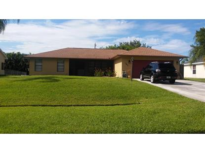 741 SE Majestic Terrace Port Saint Lucie, FL MLS# RX-10249493