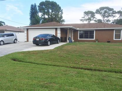 1143 SE Odonnell Lane Port Saint Lucie, FL MLS# RX-10253502