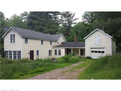135 OLD TOWN RD East Hartland, CT MLS# G677885