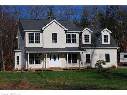 1496 RIVERSIDE DRIVE Thompson, CT MLS# G682251