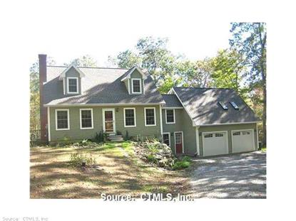 39 OLD SOUTH WILLINGTON RD Willington, CT MLS# G694415