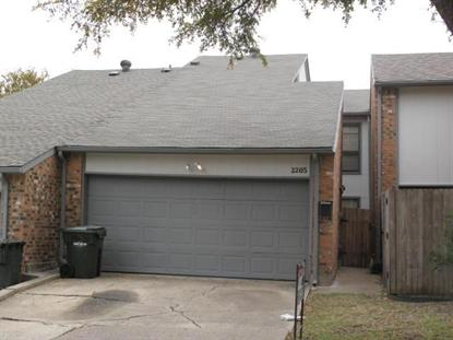 2205 SALEM Drive  Carrollton, TX MLS# 12057383