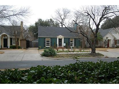 4415 Mockingbird Lane  Highland Park, TX MLS# 12092092