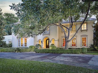 9700 Audubon Place  Dallas, TX MLS# 12118391