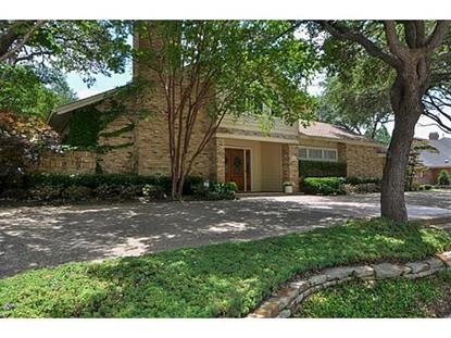 5806 Bent Trail  Dallas, TX MLS# 12142503