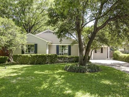 4421 Amherst Avenue  Dallas, TX MLS# 12162137