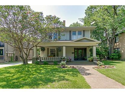 4839 Junius Street  Dallas, TX MLS# 12190652