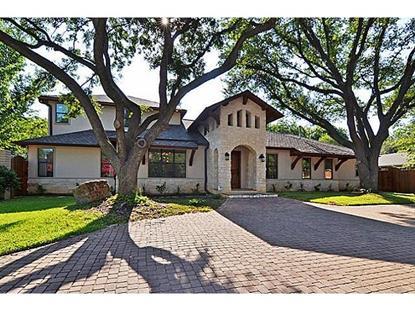 11024 Rosser Road  Dallas, TX MLS# 12196570