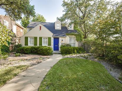 4553 Arcady Avenue  Highland Park, TX MLS# 13016073