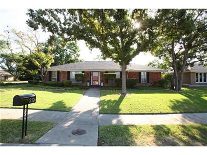 2326 Greenhill Drive  Carrollton, TX MLS# 13024384