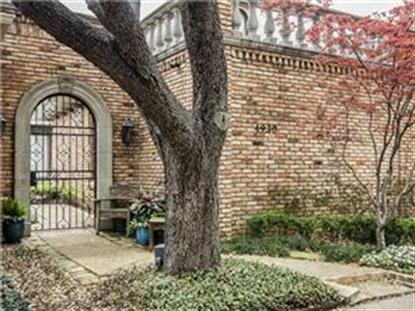 4930 Briarwood Place  Dallas, TX MLS# 13031746