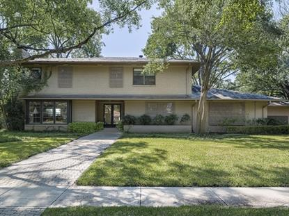 4611 Beverly Drive  Highland Park, TX MLS# 13034741