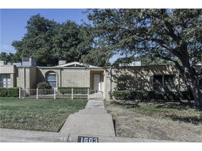1603 Cindy Court  Arlington, TX MLS# 13037603